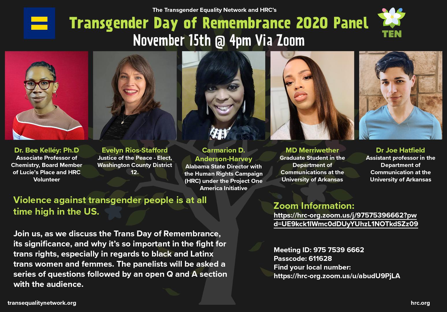 TDOR Panel Graphic
